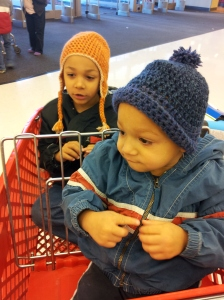 Boys at Target